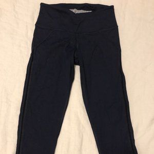 Navy Victoria's Secret Sport Leggings